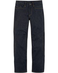ICON Insulated Sport-Riding Relaxed Fit Denim Pant Blue