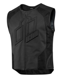 ICON Hypersport Prime™ Leather Vest Black XL