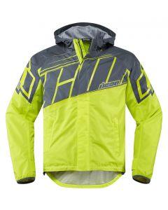 ICON PDX2 Textile Relaxed Fit Jacket Hi-Viz Yellow / Gray