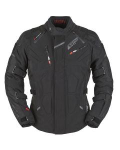 Furygan Cold Master Mens Leather Long Sleeve Jacket Black