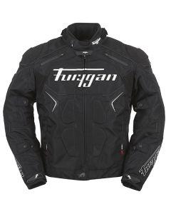 Furygan Titan Evo Mens Leather Long Sleeve Jacket Black