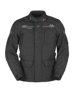 Furygan Bronco 3in Mens Leather Long Sleeve Jacket Black