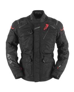Furygan Vulcain 3in1 Mens Leather Long Sleeve Jacket Black