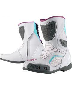ICON Overlord™ Ladies Textile Boot White