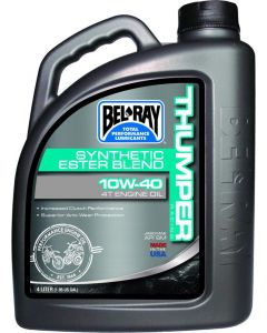 BEL-RAY OIL THUMPER BLEND 4T 10W-40 4L