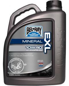 BEL-RAY OIL EXL MINERAL 4T 10W-40 4L