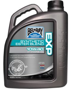 BEL-RAY OIL EXP SYN BLEND 4T 10W-40 4L