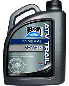 BEL-RAY OIL ATV MINERAL 10W-30 4L