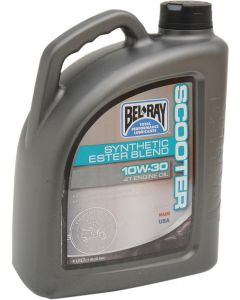 BEL-RAY OIL SCOOTER BLEND 10W-30 4L