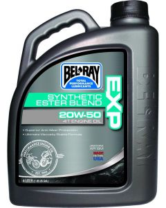 BEL-RAY OIL EXP SYN BLEND 4T 20W-50 4L