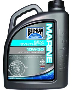 BEL-RAY OIL 4T SEMI-SYN 10W-30 4L