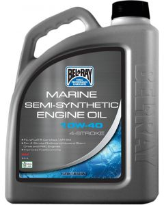 BEL-RAY OIL 4T SEMI-SYN 10W-40 4L