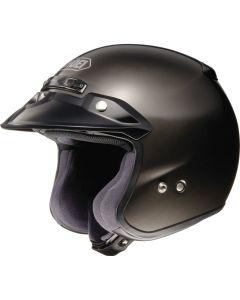 Shoei RJ Adventure & Dual Sport Helmet Platinum-R  Black