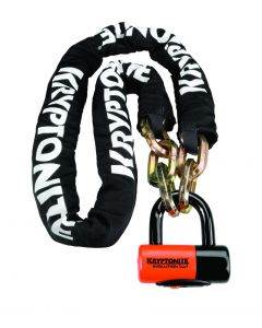 KRYPTONITE LOCK W/CHAIN 1217EVDISC5'
