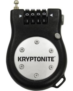 KRYPTONITE LOCK R2 RETRACTORCOMBOCBL