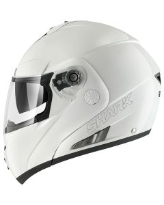 Shark Openline Flip Up Helmet Prime PIN  WHITE