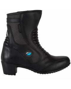Spada Steel Ladies Leather Boot Black