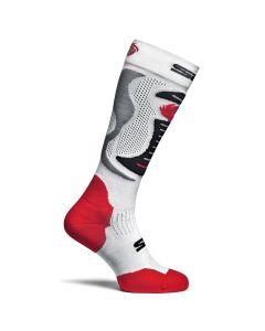 Sidi Textile Faenza Socks White/Red/Black EC 38-42