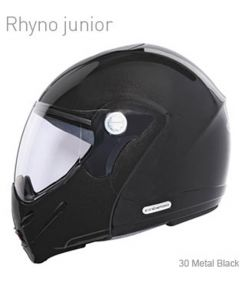 Caberg Rhyno Junior Flip Up Helmet  Metal Black