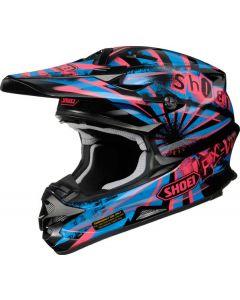 Shoei VFX-W Offroad Helmet Dissent  Pink