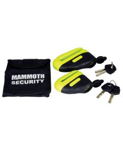 Mammoth Blast Disc Lock 10Mm Pin Yellow 501J