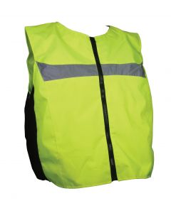 HI-VIS / REFLECTIVE URBAN GILET MEDIUM / LARGE