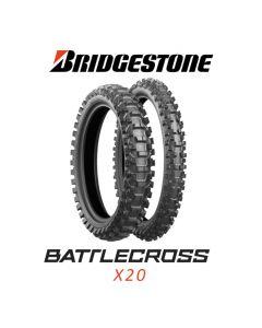 BRIDGESTONE X20 SOFT 80/100-21 51M NHS