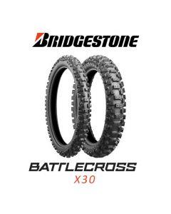 BRIDGESTONE X30R MED 100/90-19 57M TT NHS
