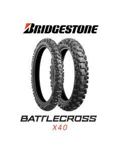 BRIDGESTONE X40R HARD 100/90-19 57M TT NHS
