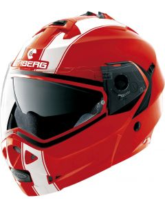 Caberg Duke Flip Up Helmet   Red
