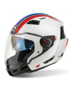 Airoh Executive R Modular - Stripes White Gloss - XS