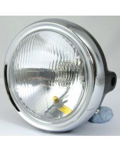 HEADLIGHT HONDA CB250N WITH HALOGEN H4 12V60/55W