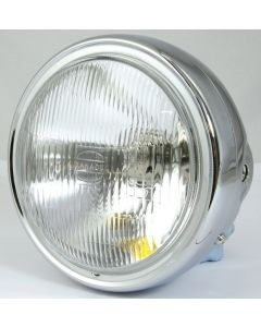 HEADLIGHT HONDA CB900 ALL CHROME H4 12V60/55W T10 12V3W