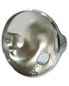 HEADLIGHT UNIVERSAL 7  CHROME CASING
