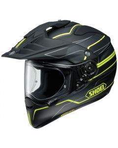 Shoei Hornet Adventure & Dual Sport Helmet Navigate  Yellow