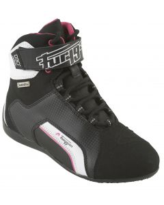 Furygan Jet D30 Sympatrex Ladies Leather Boot Black/Pink