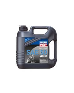 Liqui Moly - Oil 4-Stroke - Mineral - HD Classic Street - SAE 50 - 4L