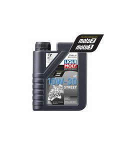 Liqui Moly - Oil 4-Stroke - Semi Synth - Street - 10W-30 - 1L