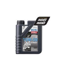 Liqui Moly - Oil 4-Stroke - Semi Synth - Street - 15W-50 - 1L