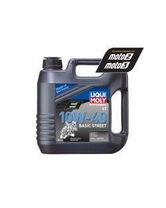 Liqui Moly - Oil 4-Stroke - Mineral - Basic Street - 10W-40 - 4L