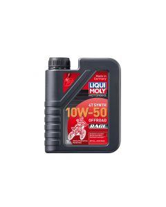 Liqui Moly - Oil 4 Stroke - Fully Synth - Off Road Race - 10W-50 - 1L