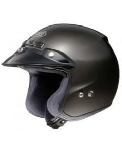 Shoei RJ Full Face Helmet Platinum-R  Black