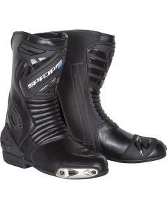 Spada Sportour Leather Boot Black