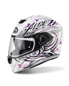 Airoh Storm Full Face - Lady - Poison White Gloss - Small