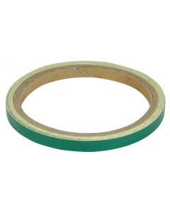 WHEEL/BODY STRIPES 7MM REFLECTIVE GREEN