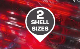 2 shell sizes
