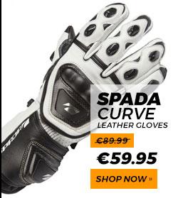 Spada Curve Leather Gloves